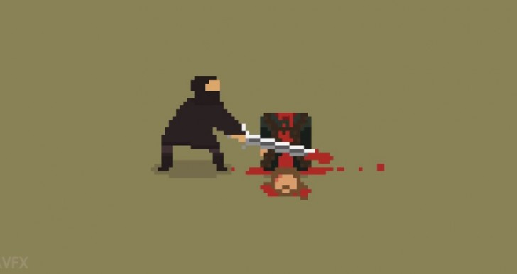 Las muertes más impactantes de Game of Thrones en 8 bits